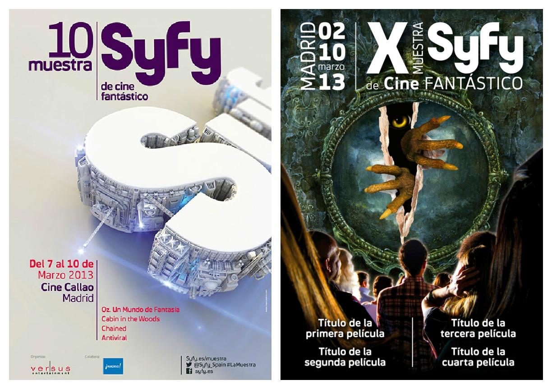 X muestra SyFy