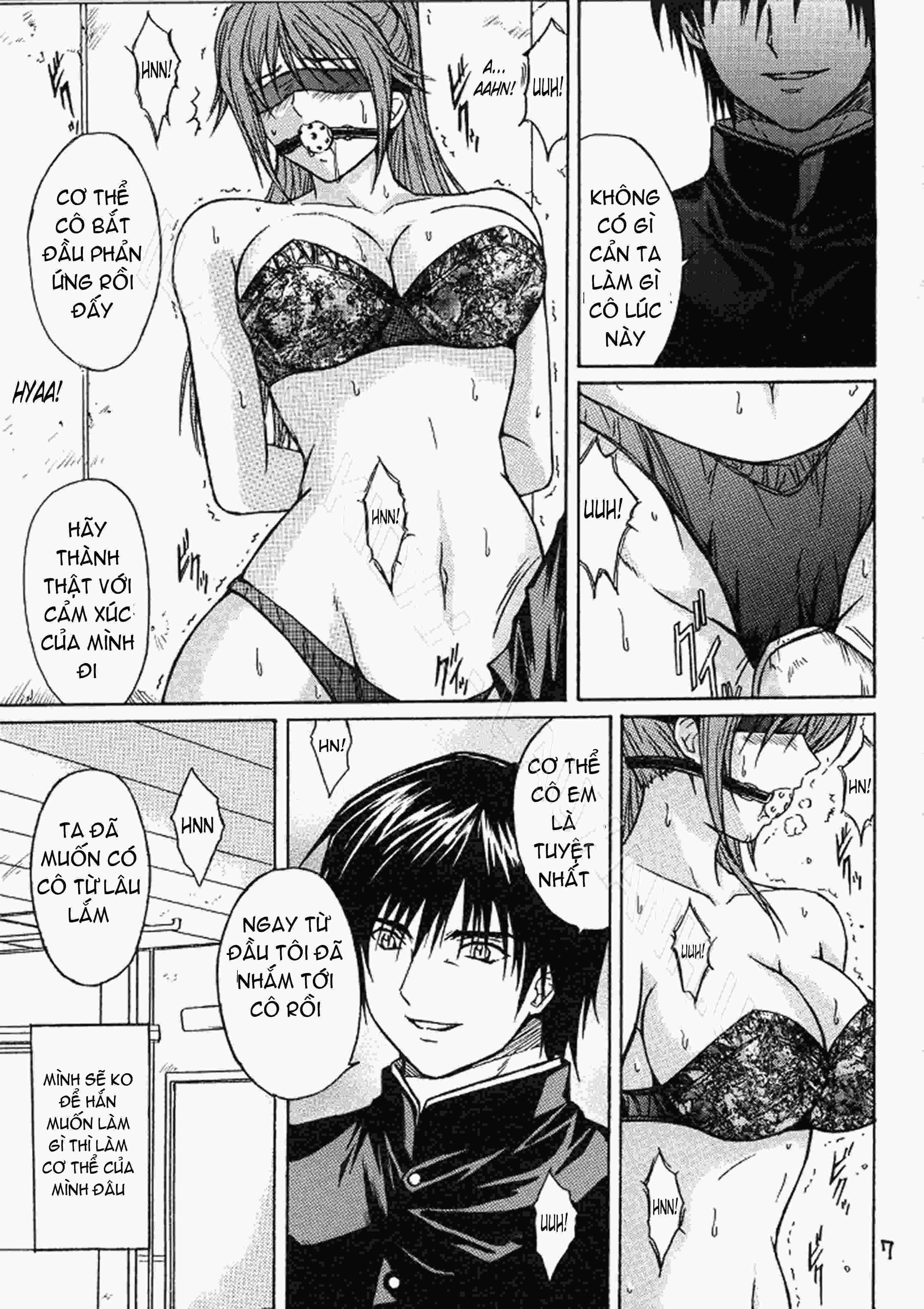 TruyenHay.Com - Ảnh 6 - Ryoujoku Rensa Chapter 1