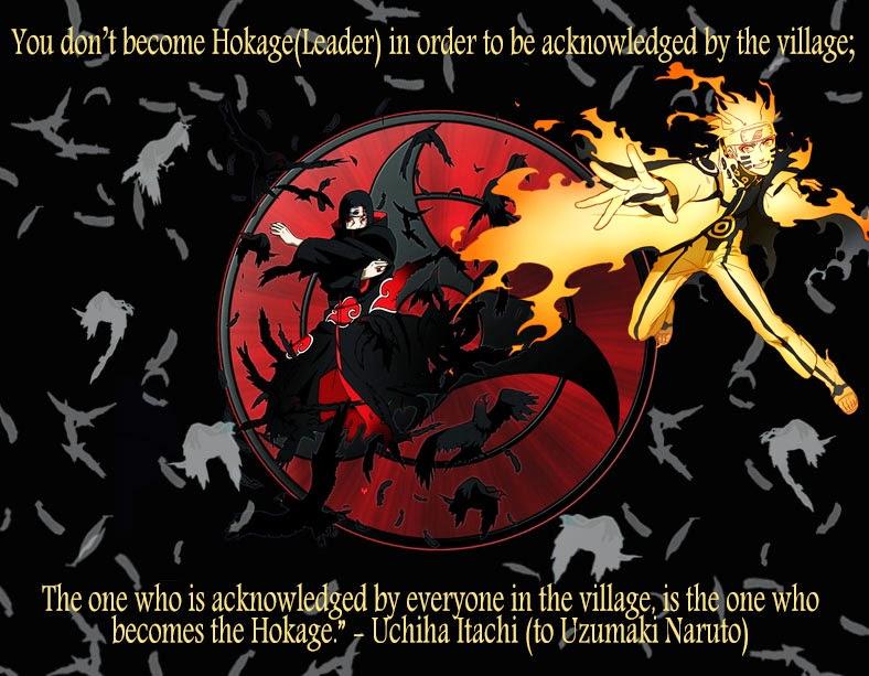 Naruto Quotes About Loneliness Itachi Quotes To Sasuke itachi