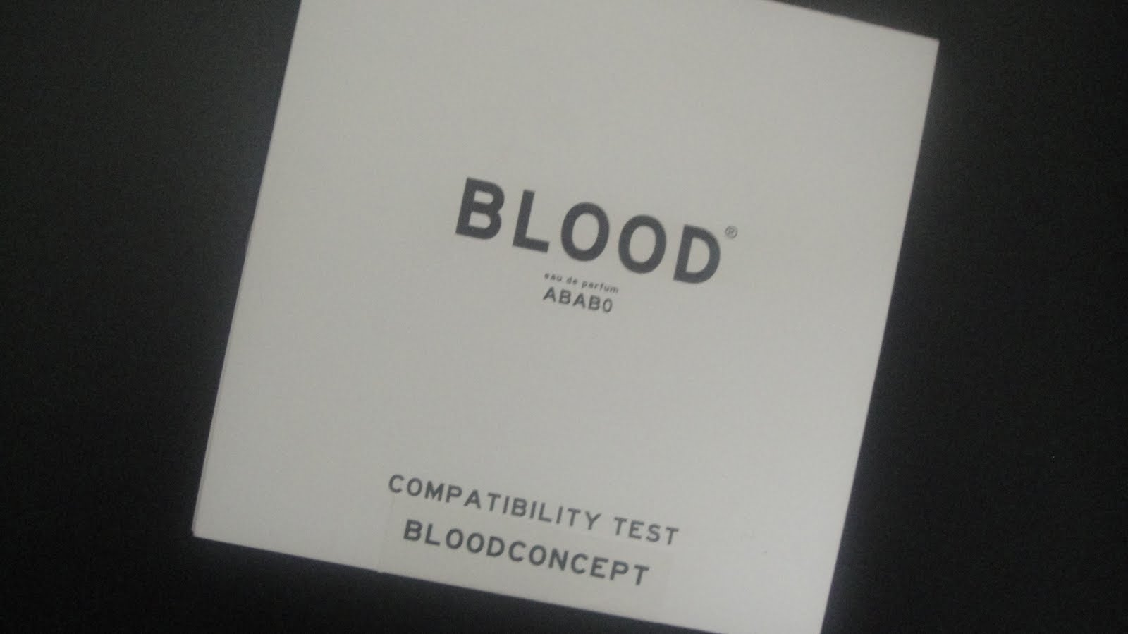 Fragrance Of The Week: Blood Concept Black Series – AB