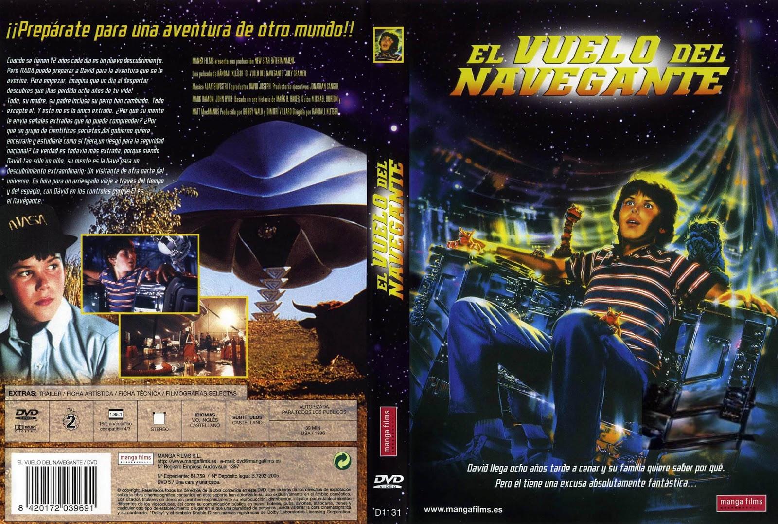El Vuelo Del Navegante DVD
