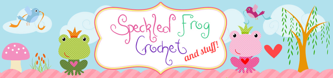 Speckled Frog Crochet