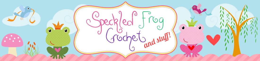 Speckled Frog Crochet