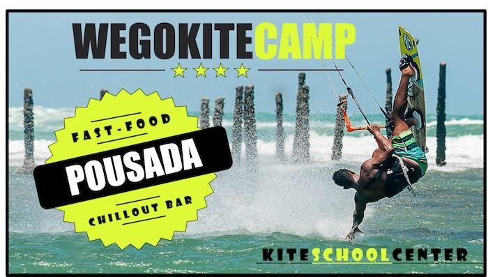 Wego kite Camp / KiteSurf Brasil