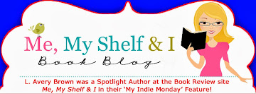I was a SPOTLIGHT author at Me, My Shelf & I