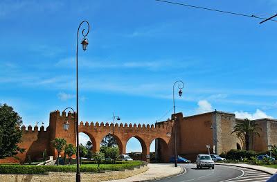 Bab-Rouah gate, Rabat, Morocco