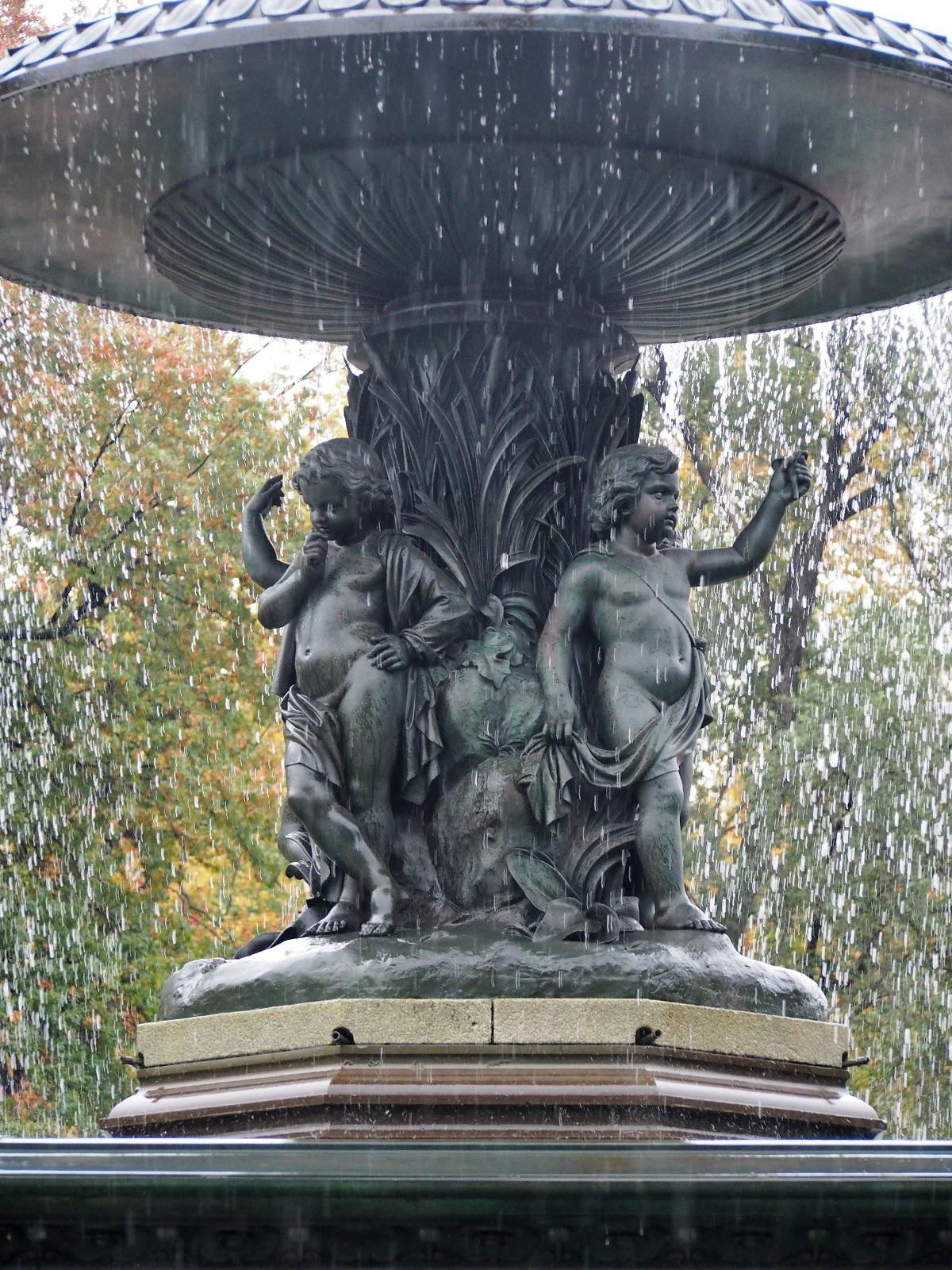 Bethesda Cherubs, #bethesdacherubs #centralpark #bethesdafountain #fountain 2014
