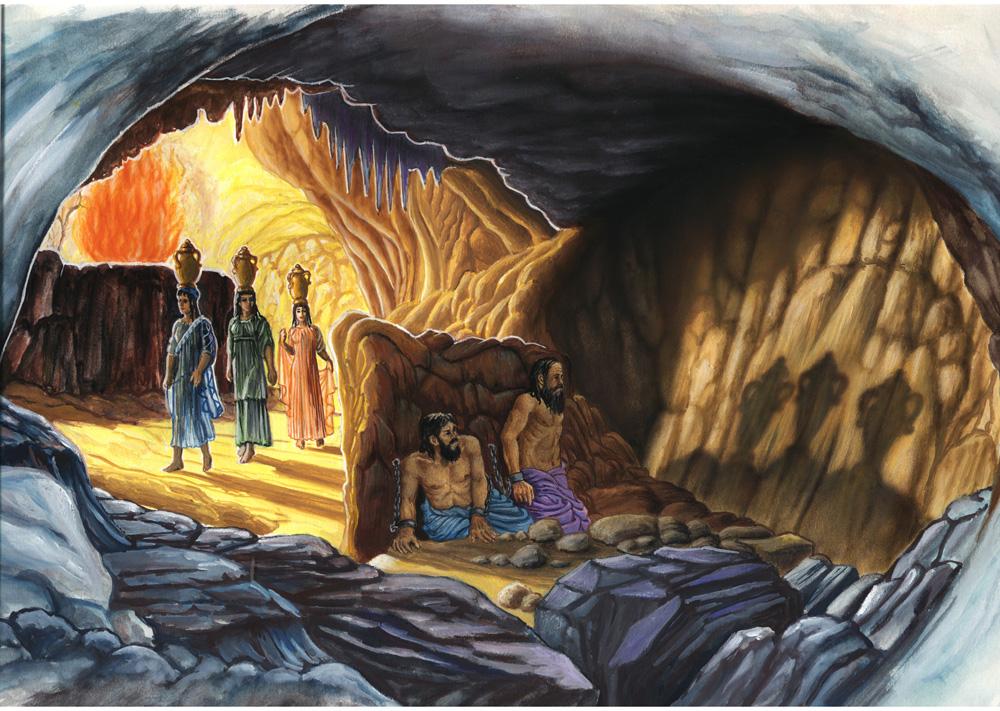 Il mito della caverna for Modelli di caverna dell uomo