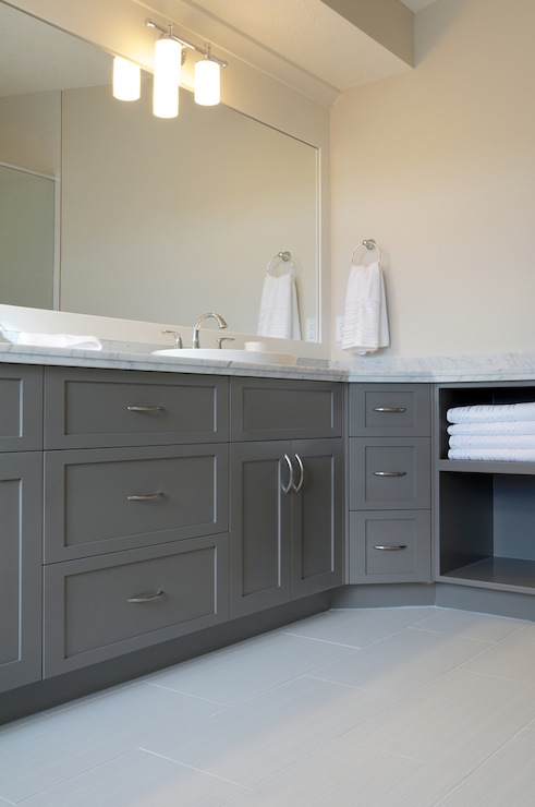 Grey Painted Bathroom Vanities 491 x 740