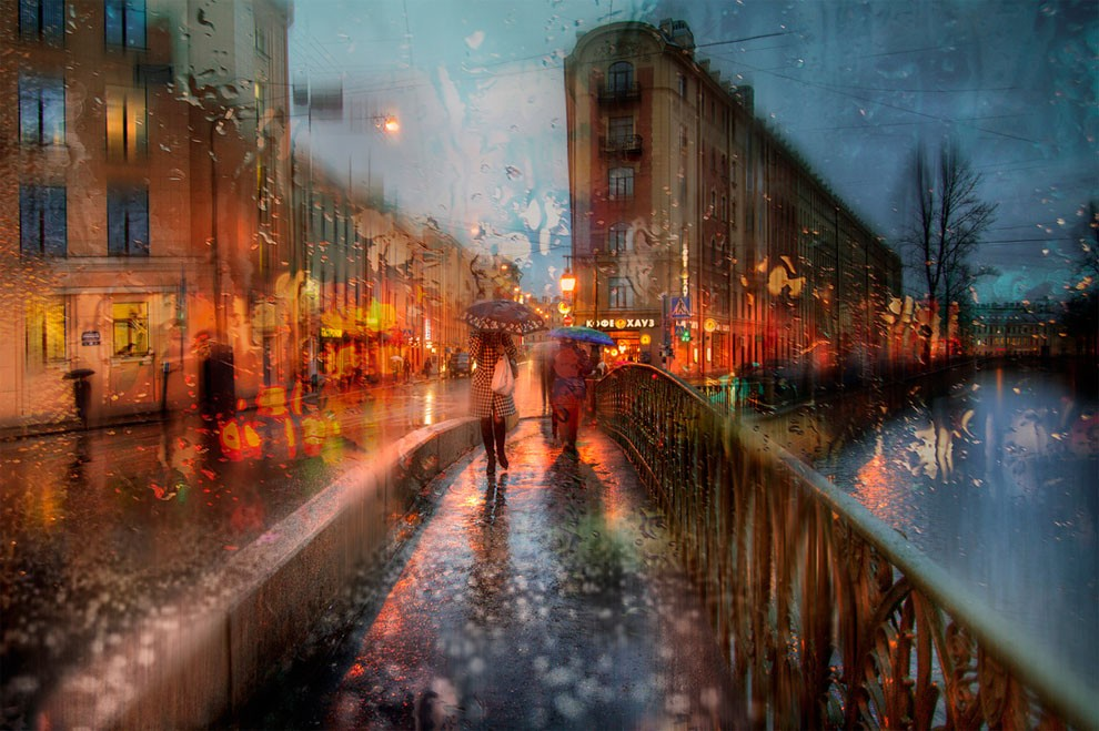 01-Eduard-Gordeev-Гордеев-Эдуард-Photographs-in-the-Rain-that-look-like-Oil-Paintings-www-designstack-co