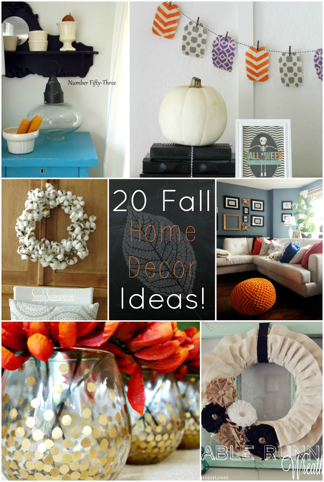 all things katie marie Fall Home Decor Home Decoration