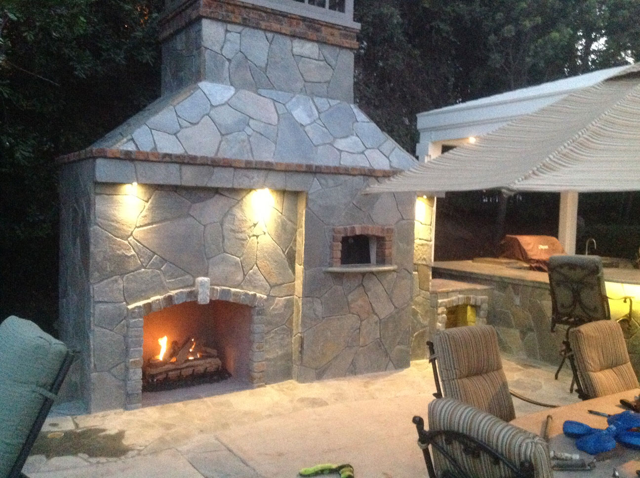This Forno Rustico 100 Pizza Oven Was Installed In San Juan Capistrano, Ca  By Italco Construction Inc. Italco Construction Provides Custom Outdoor  Pizza ...  Outdoor Fireplace And Pizza Oven
