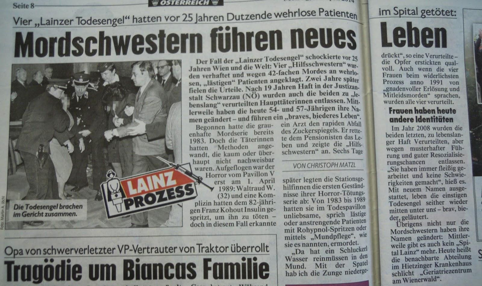 Fedayn Favac 1993 Die Todesengel Von Lainz Sind Alle Wieder Frei