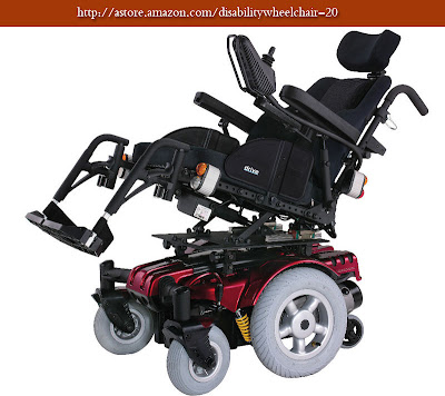 disability wheelchair: Drive Medical Sunfire Gladiator Very HD Power Wheelchair with Power Tilt Rehab Seat