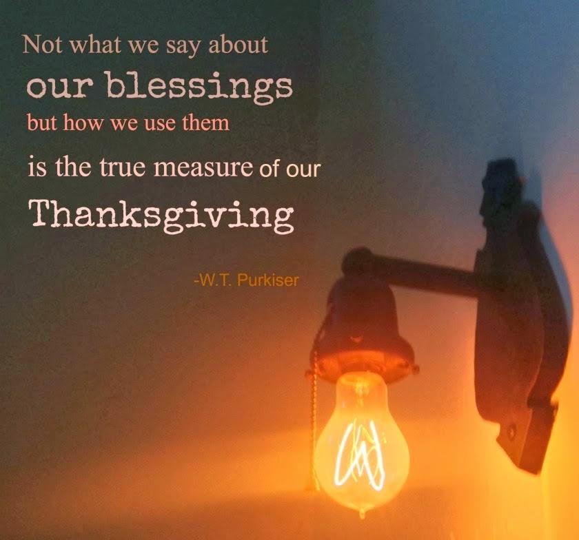 Tamera Beardsley Thanksgiving Saturday Quote