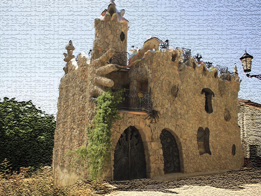 Guadalajara paso a paso el estilo gaud embellece el - Casas de pueblo en guadalajara ...