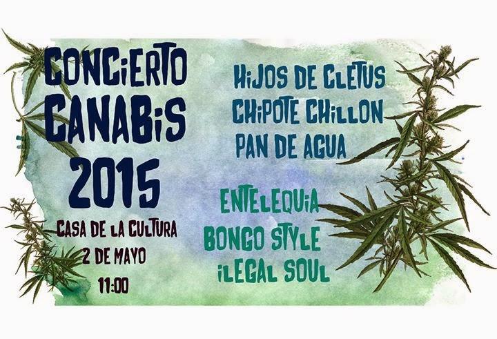 CONCIERTO CANNABIS 2015