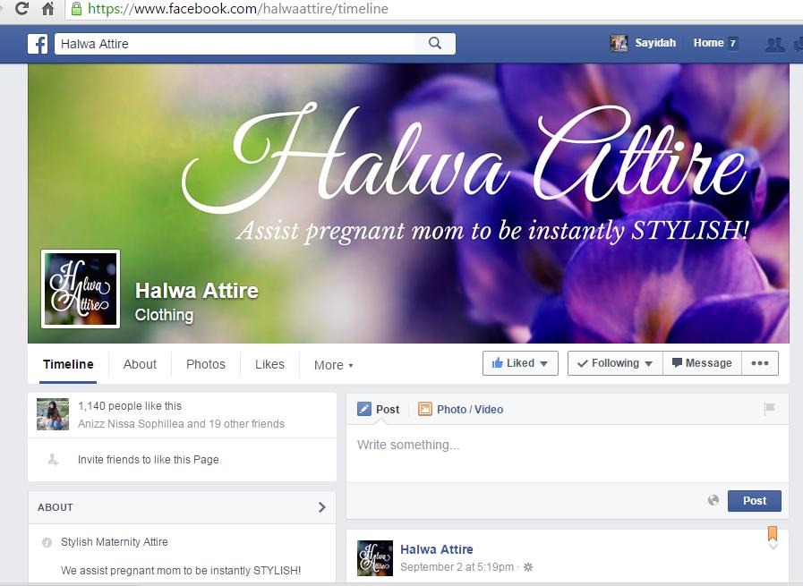 facebook halwa attire