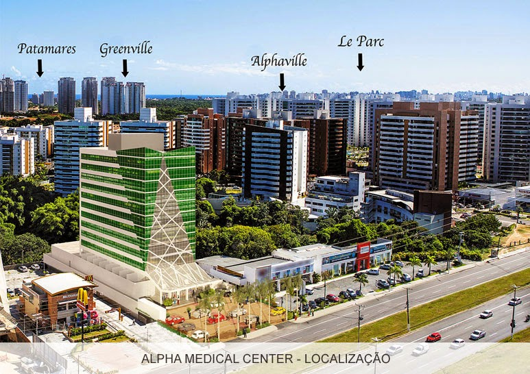 Alpha Medical Center - Fachada