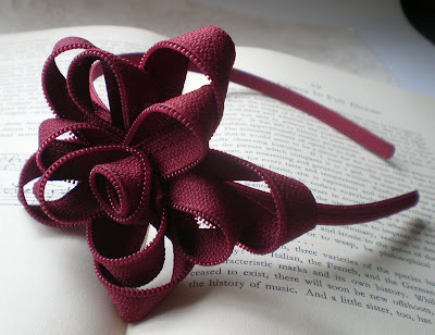 gift presents for little princess – zipper flower tutorial