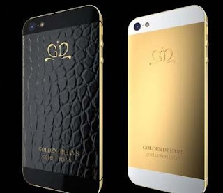 إصدارات متميزة من هاتف ايفون 5 مصنوعة من الذهب الخالص والجلد