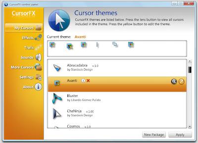 CursorFX 2.0 - Cursor Themes