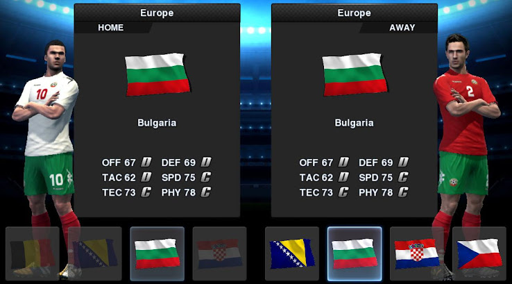 PES 2013 Bulgaria 12 13 Kit Set by Tottimas