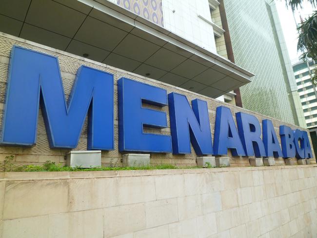 El gran cartel de Menara BCA