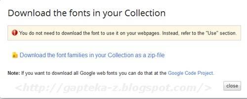 Google Web Fonts-4