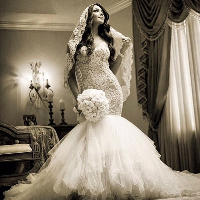 Luxury Asian Bride Makeup and Wedding Dress Collection 2014