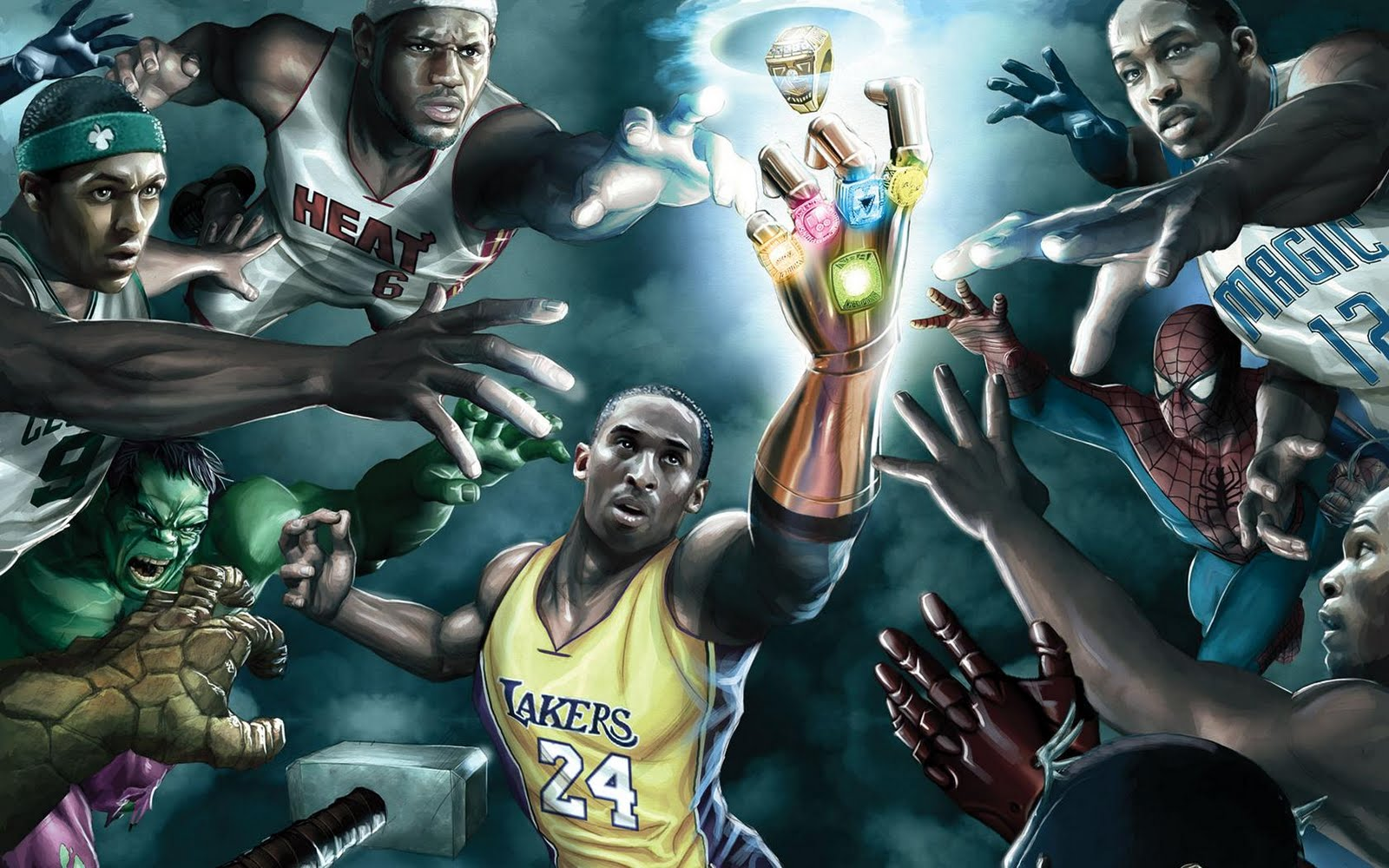 Kobe And The Infinity Gauntlet