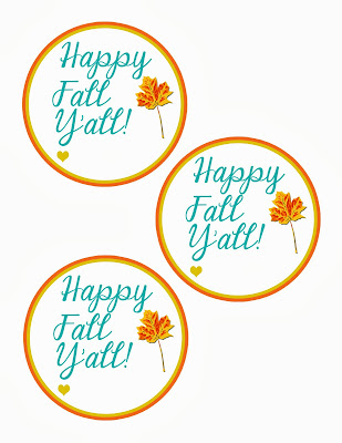 Clever image throughout happy fall y all printable
