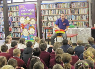 Science week workshop at Kilrush Library