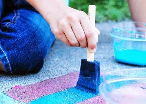 http://www.theidearoom.net/2010/07/sidewalk-chalk-paint.html