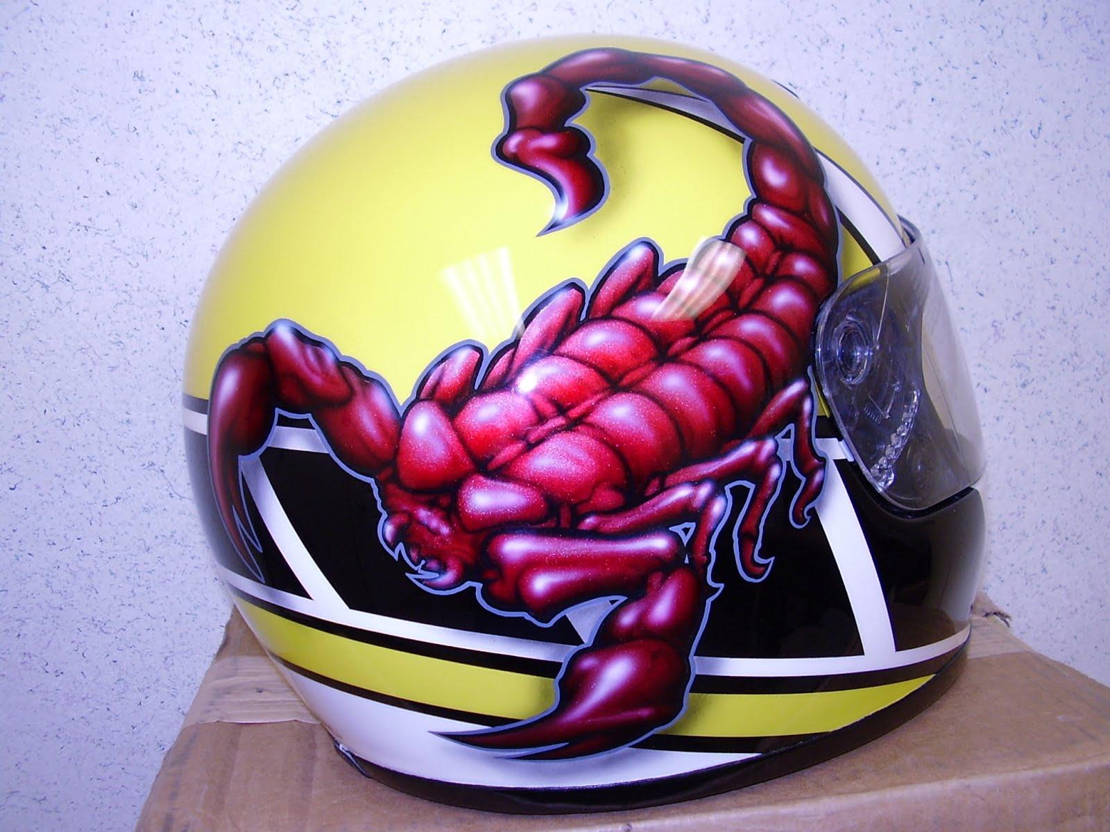 Scorpio Helmet