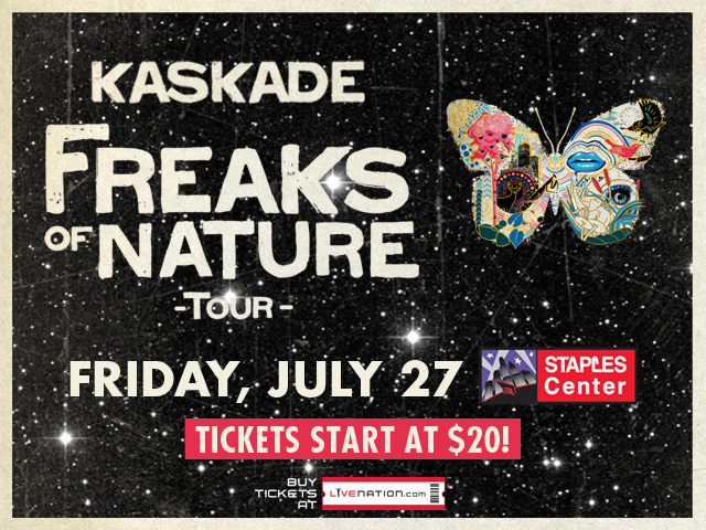 Kaskade Freaks of Nature
