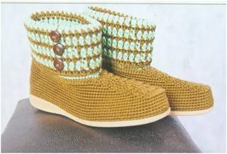 Sepatu Rajutan (KB Duo)