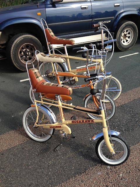 Vintage Raleigh bikes, Brighton Breeze