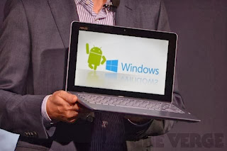 Asus TD300LA Ultrabook with Either Windows or Android OS
