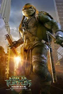 Teenage Mutant Ninja Turtles Michelangelo Poster
