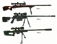 Pindad SPR 1-2-3 Sniper Rifle