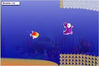 Jogo de nadar para se salvar no oceano.