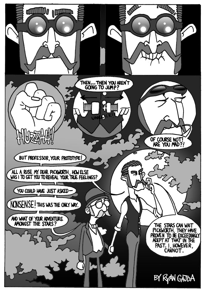 Professor & Pickworth Comic Page 4