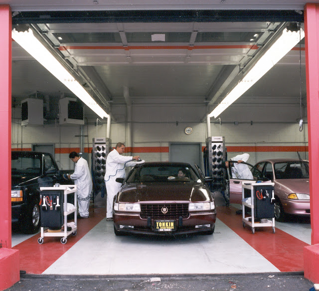 The three keys to equipping the professional detail shop for Automotive shop design