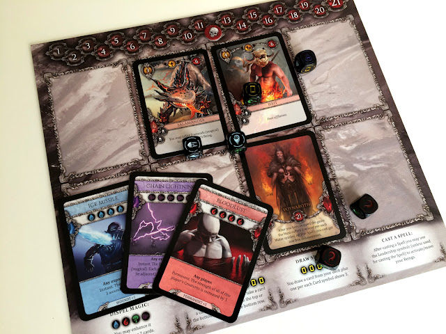 Heroes board game fire faction