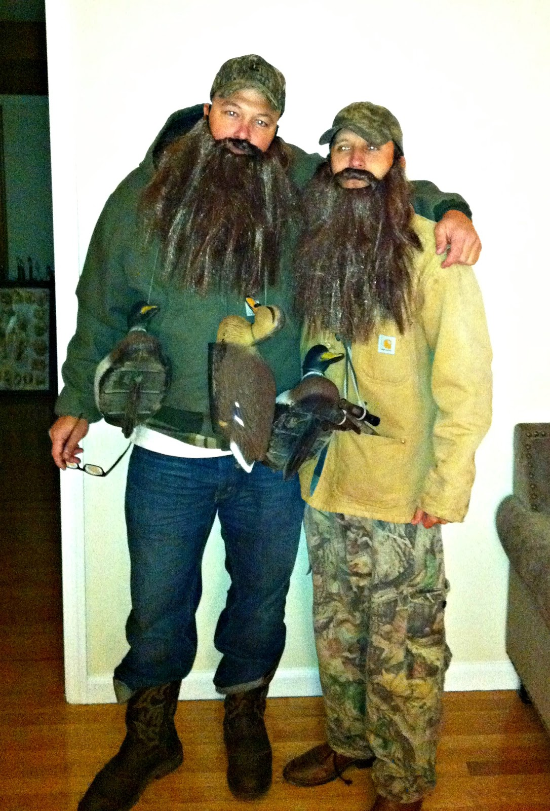that would be phil and jase robertson from duck dynasty although most of the time we just quoted uncle si jack - Jase Robertson Halloween Costume