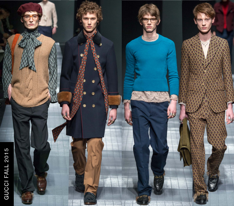 gucci mens fall 2015 runway show