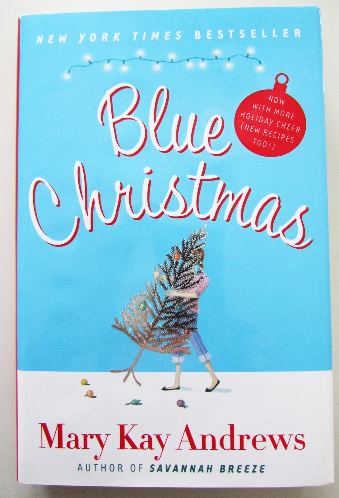 Acanthus and Acorn: Mary Kay Andrews: Blue Christmas Book Giveaway!