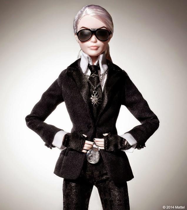 barbie, edição especial, aniversário, karl legerfeld, acho tendencia, lançamento