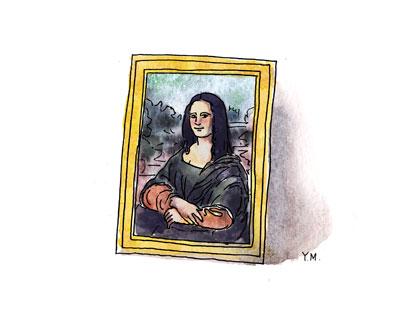 Mona Lisa by Yukié Matsushita